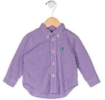cc8851fe Purple Boys' Shirts - ShopStyle