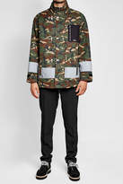 Palm Angels Cotton Camouflage Jacket