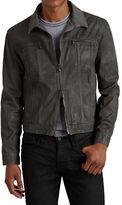 John Varvatos Star U.S.A. Denim Style Zip Jacket