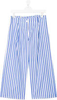 Ermanno Scervino TEEN striped straight trousers
