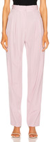 Stella McCartney Lizette Tailored Pant in Lilac | FWRD