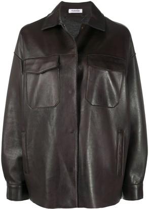 P.A.R.O.S.H. Oversized Biker Jacket