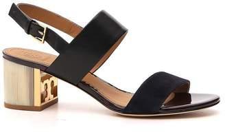 Tory Burch Slingback Block Heel Sandals