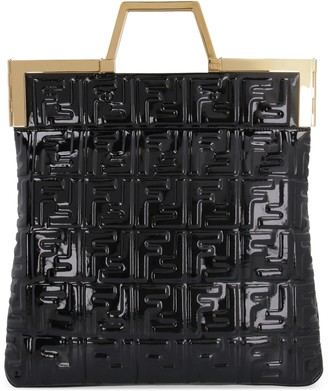 Fendi Patent Leather Tote