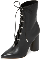 Sigerson Morrison Knight Lace Up Booties