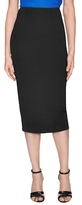 Nicholas Ponti Back Vent Pencil Skirt