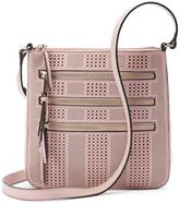 Apt. 9 Robin Perforated Triple Zip Crossbody Bag