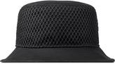Stampd Black Mesh Overlay Bucket Hat