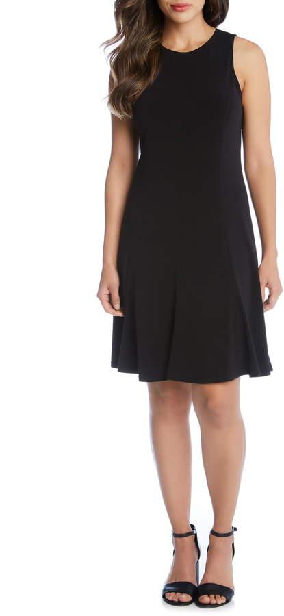 Karen Kane Sleeveless A-Line Dress