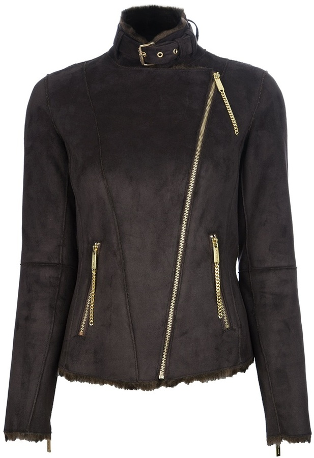 MICHAEL Michael Kors faux shearling jacket