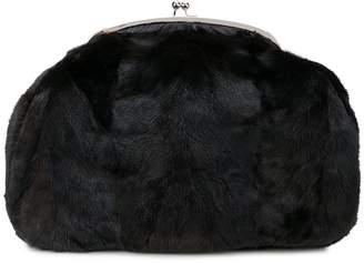 Marina Moscone oversized clutch bag