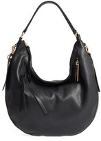 Vince Camuto Felax Leather Hobo - Black