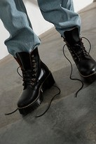 Dr. Martens Leona Platform Ankle Boots by at Free People, Black, US 9