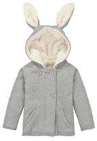 CuteOn Unisex Girl Toddler Rabbit Hoodie Coat Warm Jacket 1-2y