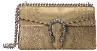 Gucci Dionysus Metallic Lizard Small Shoulder Bag