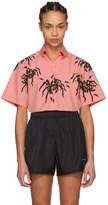 Prada Pink Spider Comic Shirt