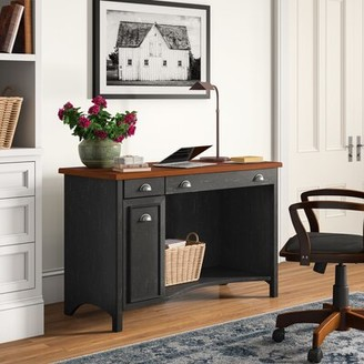 Three Posts Resaca Desk Color (Frame): Black