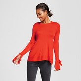 A New Day Women's Relaxed Bell Sleeve Any Day Pullover Sweater
