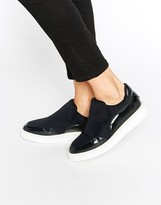Selected Sandra Slip On Skater Shoes
