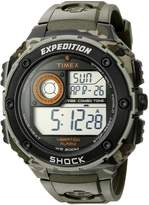 Timex Men's T499819J Expedition Digital Display Shock Watch with Black Band