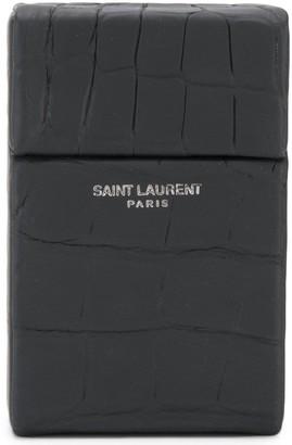 Saint Laurent Logo Card Holder