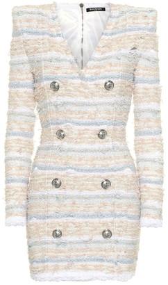 Balmain Boucle tweed dress