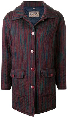 Missoni Pre Owned 1990's Boxy Padded Coat
