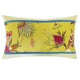 Jiti Jazmine Pieces Cotton Lumbar Pillow Color: Jade