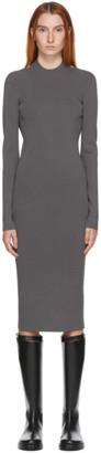 Helmut Lang SSENSE Exclusive Grey Ring Dress