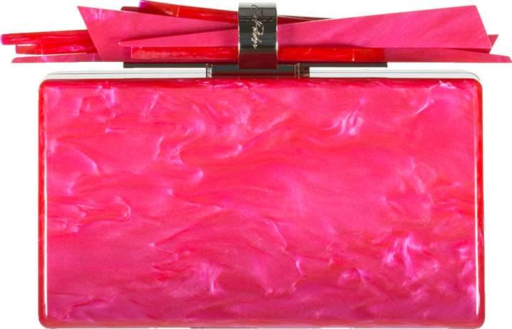 Edie Parker Wolf Acrylic Clutch