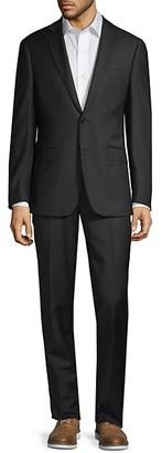 Calvin Klein 2-Piece Extra Slim-Fit Wool Suit