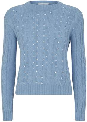 Philosophy di Lorenzo Serafini Diamante Cable Knit Sweater