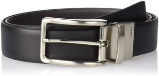 Calvin Klein Men's Reversible Feather Edge Strap Belt