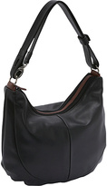 Derek Alexander Two Top Zip Hobo