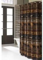 Croscill Caribou 70-Inch W x 72-Inch L Fabric Shower Curtain