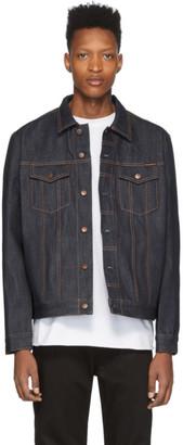 Nudie Jeans Blue Denim Jerry Dry Jacket