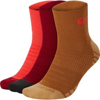 Nike Men's 3-Pair Everyday Max Cushion Ankle Training Socks