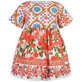 Byblos ByblosGirls Maiolica Rose Print Dress
