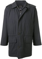 Burberry Pre Owned hooded car coat