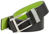 HUGO BOSS Telmon Textured Leather Belt