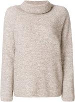 Mes Demoiselles roll-neck boxy sweater