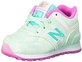 New Balance KL574 Lace-Up Running Shoe (Infant/Toddler)