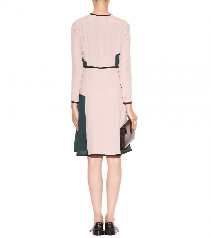 Marni Edition COLOUR-BLOCK CREPE DRESS