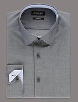 Autograph Supima® Cotton Textured Dobby Shirt