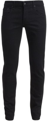 Rag & Bone Fit 1 Skinny-Fit Black Jeans