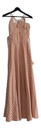 Rosie Assoulin Red Linen Dresses