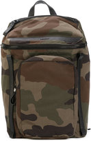 Moncler camouflage backpack - men - Cotton - One Size