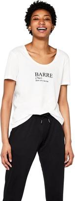 Aurique Amazon Brand Women's Slogan Sports T-Shirt