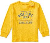 Ralph Lauren Boys' Graphic Long-Sleeve Shirt