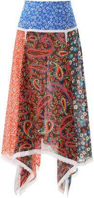 Rixo Maggie Midi Skirt